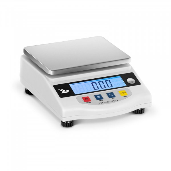 Balança de precisão - 2000 g / 0,01 g - LCD