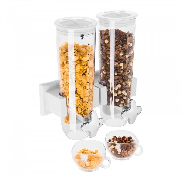 Produtos recondicionados Dispensador de cereais 3 L - 2 recipientes