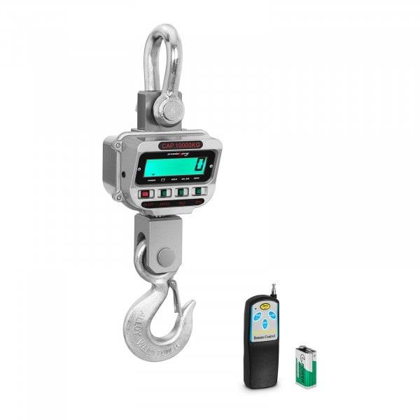 Balança digital de guindaste - 10 t / 2 kg - LCD