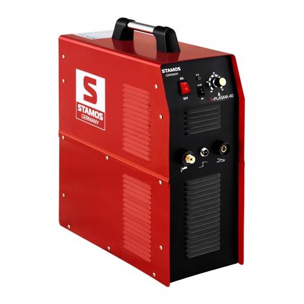 Produtos recondicionados Máquina de corte por plasma - 40 A - 230 V - Compressor de ar integrado