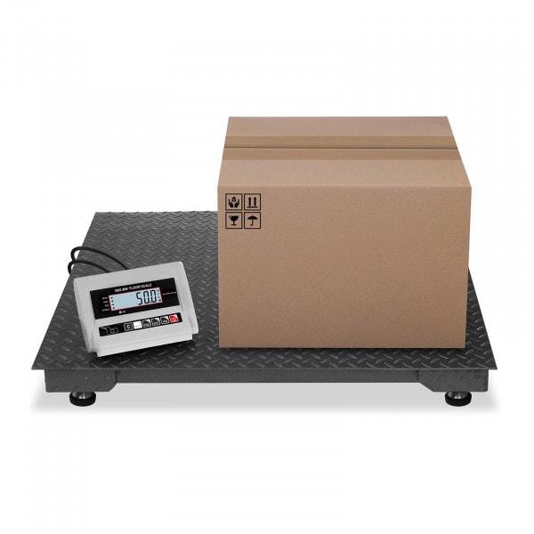 Balança de chão - 1000 kg / 0,5 kg - LCD