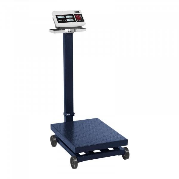 Balança de Plataforma - 600 kg / 100 g - com rodas