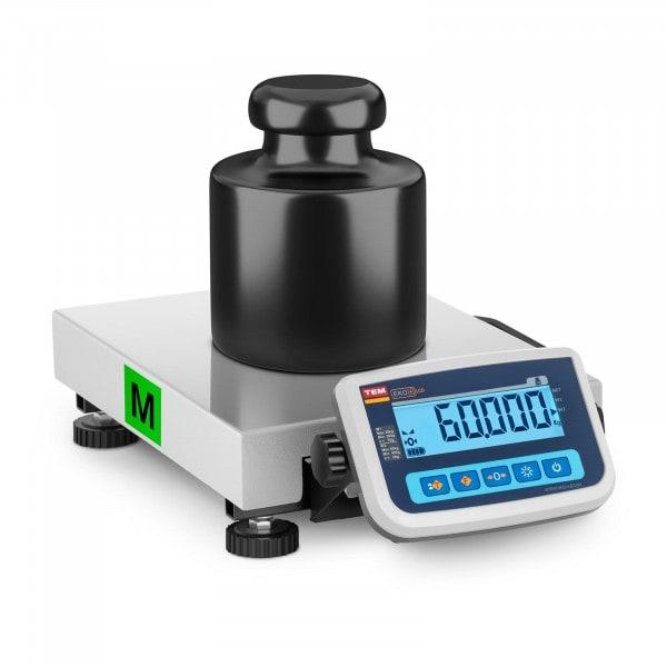 Artigos usados Balança de pacotes - Calibrada - 60 kg / 20 g
