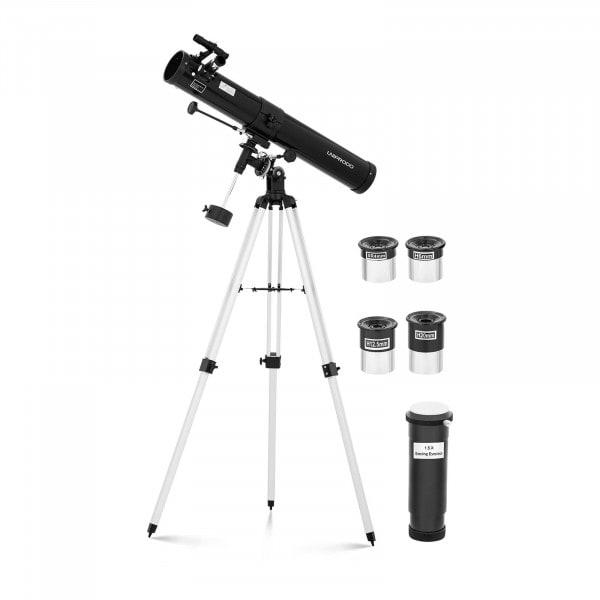 Artigos usados Telescópio Newtoniano - 900 mm - lente Ø76 mm