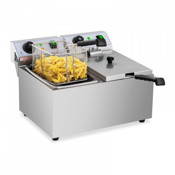 Fritadeira - 2 x 8 litros - 2 x 3200 W