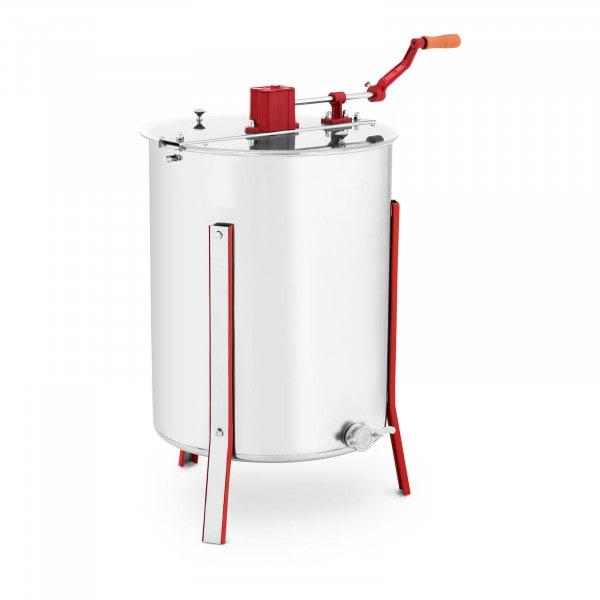 Produtos recondicionados Extrator de mel - manual - 4 quadros - tampa transparente