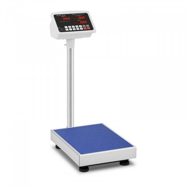 Balança de plataforma - 100 kg / 10 g - LED