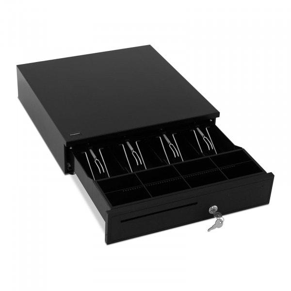 Produtos recondicionados Gaveta de caixa registadora - 8 compartimentos para moedas - 4 compartimentos para notas