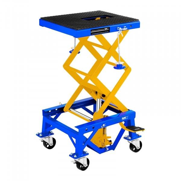 Produtos recondicionados Plataforma de elevação de tesoura com rodas - 135 kg
