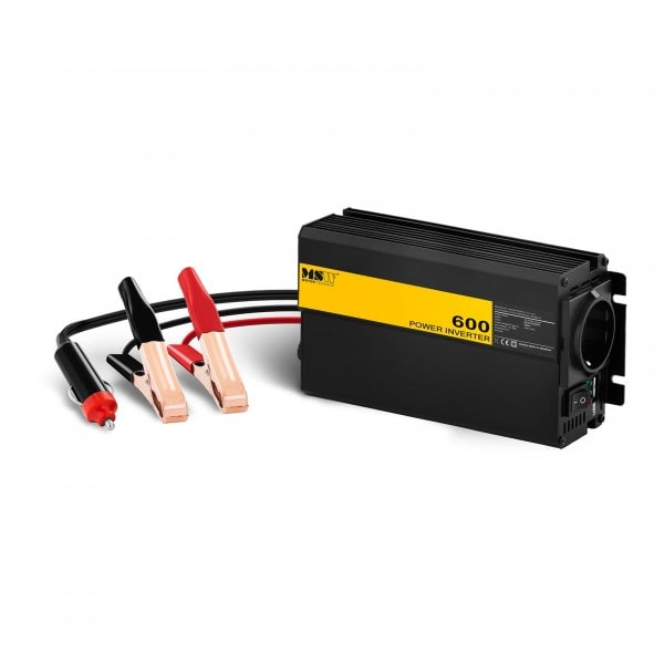 Produtos recondicionados Conversor de corrente para automóvel - 600 1200W - adaptador para isqueiro