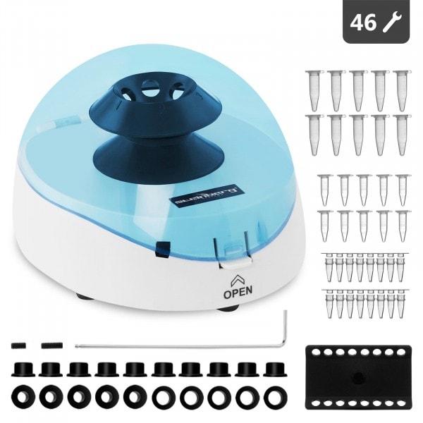 Artigos usados Centrifugadora de mesa - 16 x 0,5 ml - Força centrífuga relativa de 1200 g