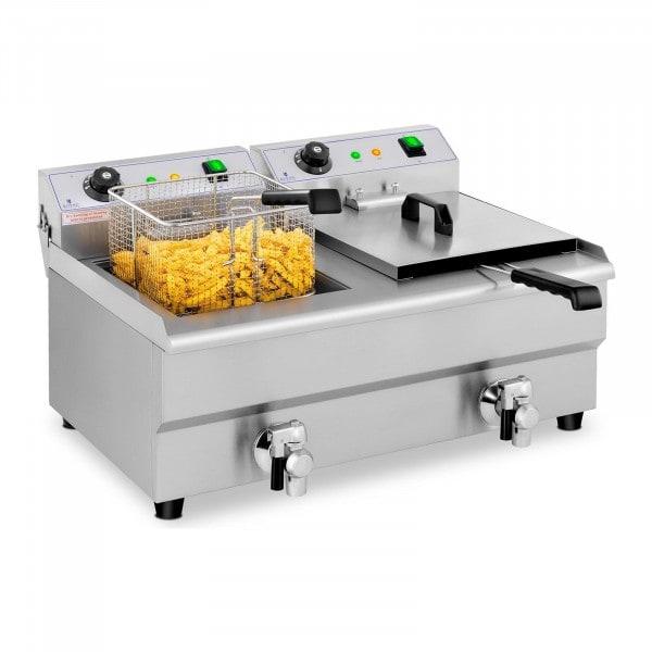 Fritadeira - 2 x 13 litros - 2 x 3200 W