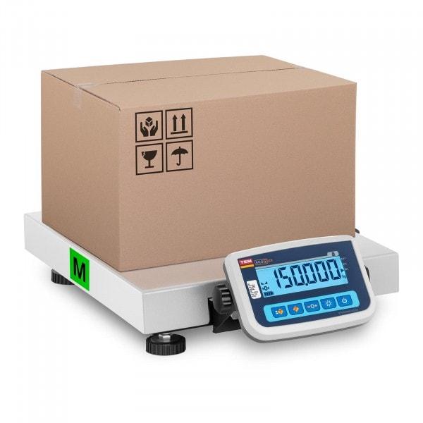 Artigos usados Balança de pacotes - Calibrada - 150 kg / 50 g