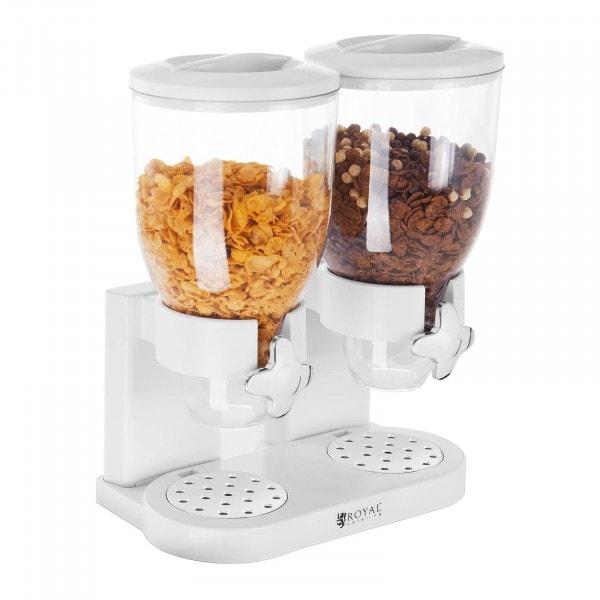 Produtos recondicionados Dispensador de cereais - 2 recipientes - 7 L