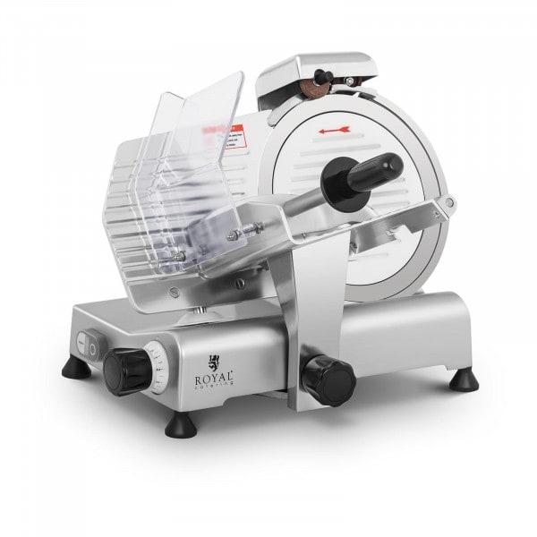 Produtos recondicionados Máquina de fatiar - 250 mm - até 8 mm - afiador incorporado