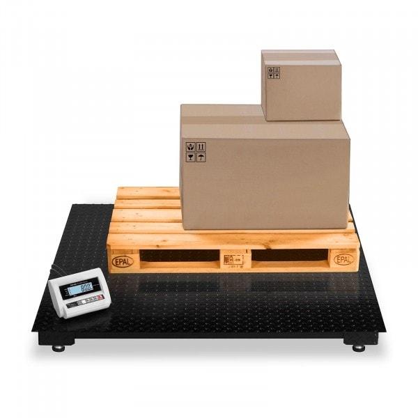 Balança de chão - 5 t / 2 kg - LCD