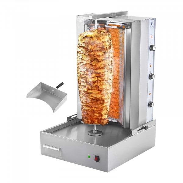 Produtos recondicionados Grelhador para kebabs - 6000 W - 400 V