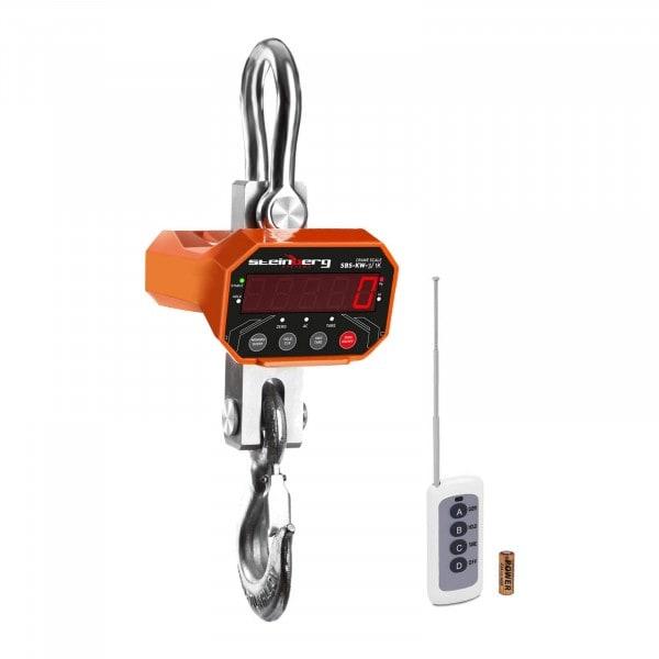 Balança digital de guindaste - 3 t / 1 kg - LED