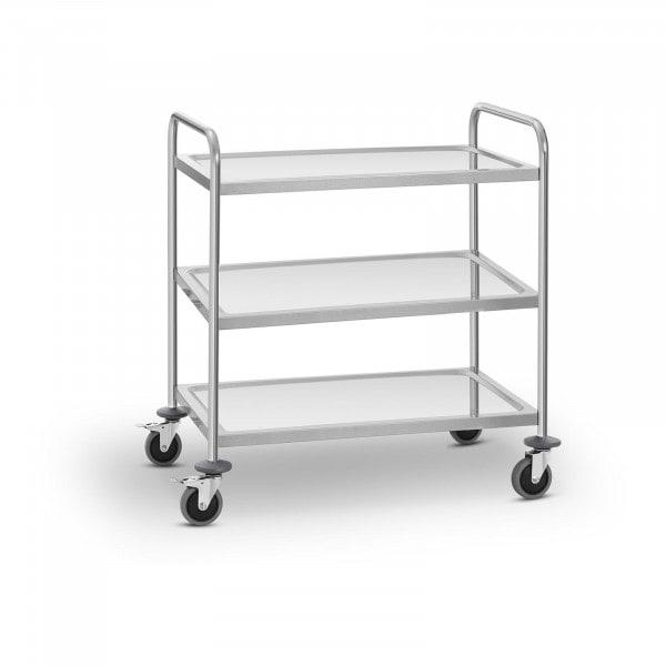 Carrinho de serviço - 3 prateleiras - 150 kg