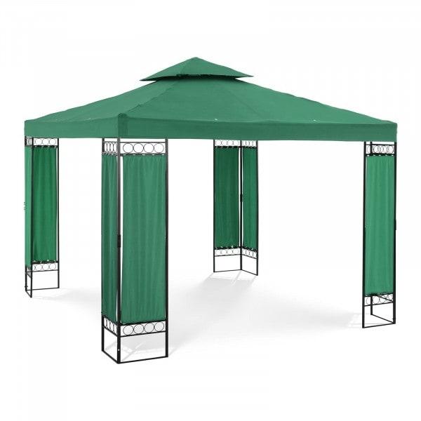Produtos recondicionados Tenda de jardim - quadrado - verde escuro
