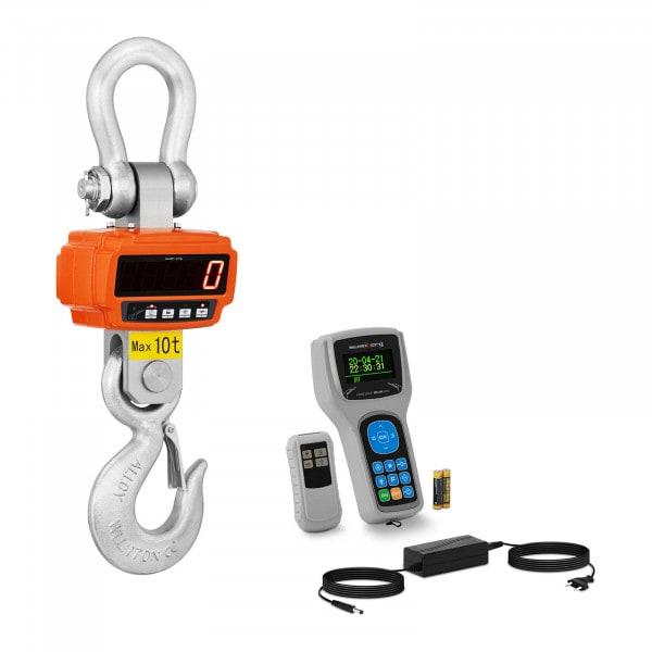 Balança digital de guindaste - 10 t / 2 kg - visor remoto