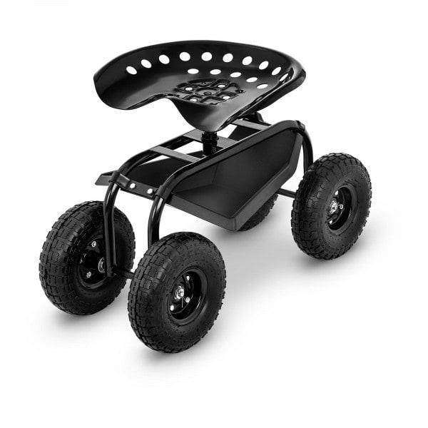Produtos recondicionados Assento de jardim com rodas - 150 kg