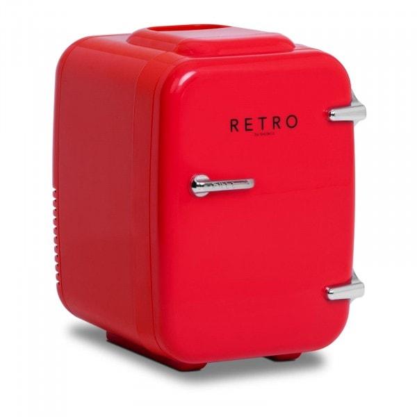 Produtos recondicionados Mini frigorífico - para carros - 4 l - vermelho - termóstato