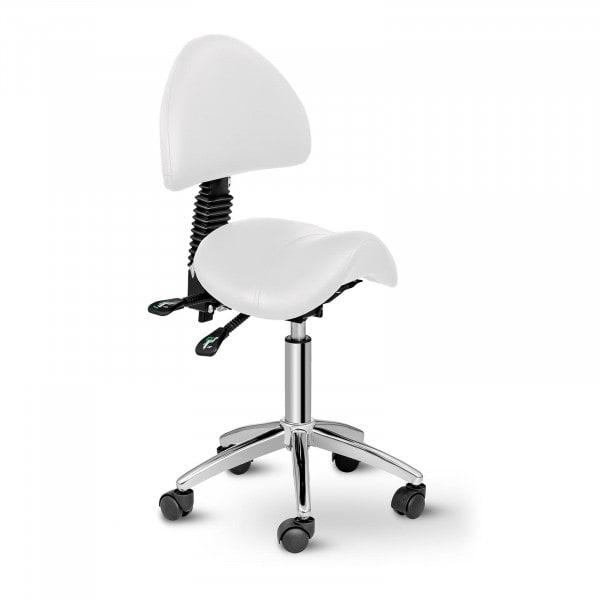 Artigos usados Cadeira sela Berlin com encosto - branca