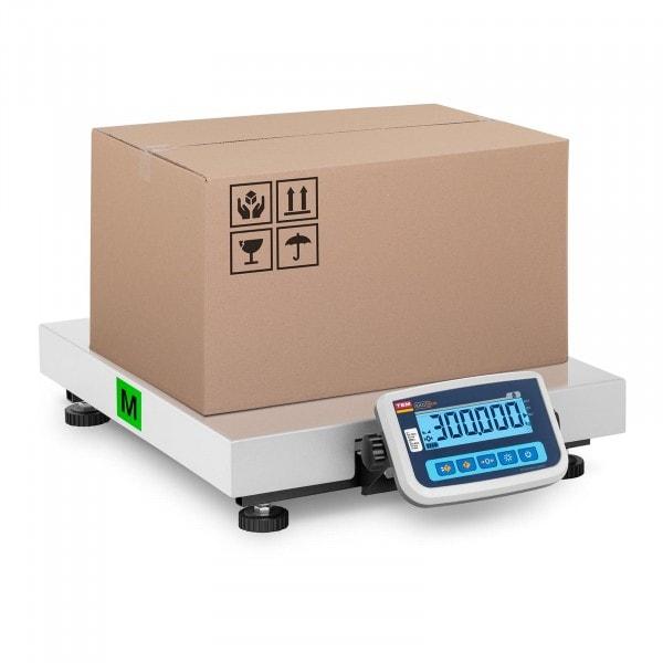 Produtos recondicionados Balança de pacotes - Calibrada - 300 kg / 100 g - 60 x 50 cm