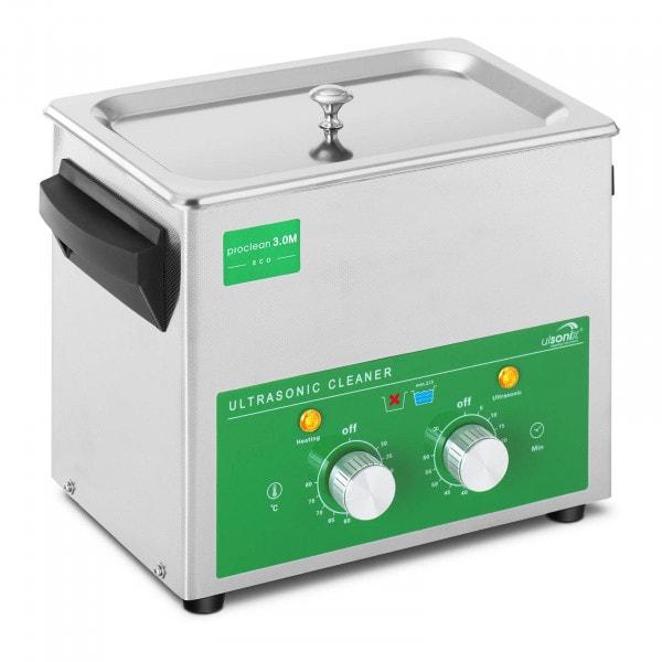 Lavadora ultrassónica - 3 litros - 80 W - Basic Eco