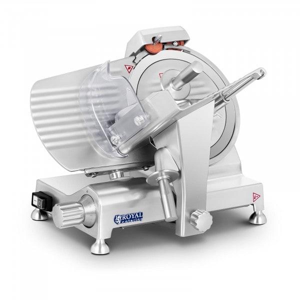 Máquina de fatiar - 250 mm - até 12 mm - Pegas de alumínio