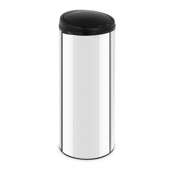 Artigos usados Caixote de lixo automático 50 l - sensor 20 cm - preto