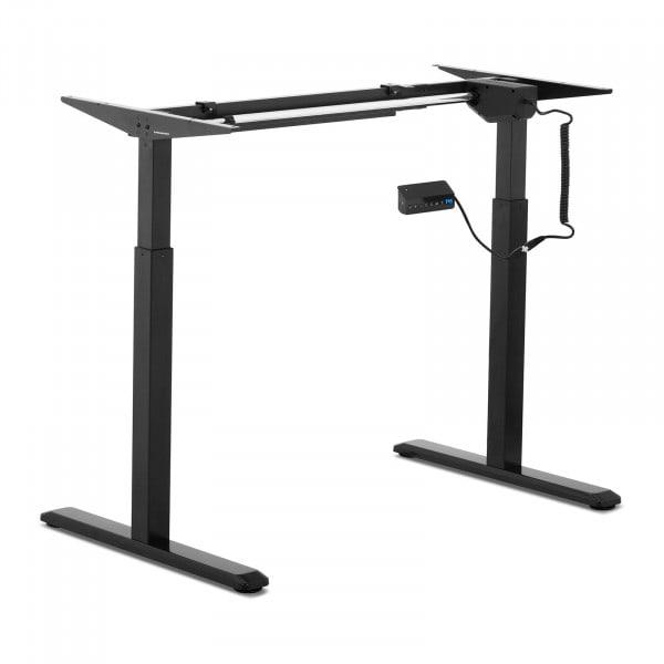 Produtos recondicionados Estrutura para mesa de escritório - ajuste elétrico - cor preta