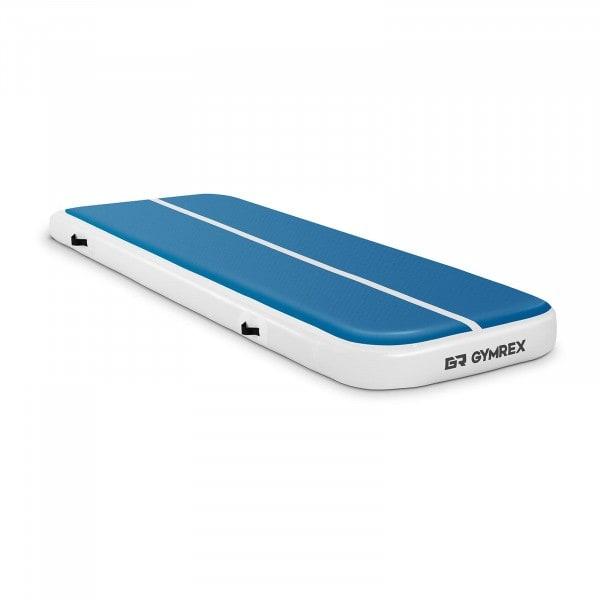 Artigos usados Tapete de ginástica inflável - 300 x 100 x 20 cm - azul-branco