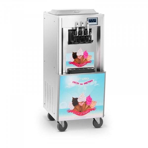 Produtos recondicionados Máquina de gelados - 33 l/h - 3 sabores