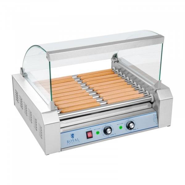 Produtos recondicionados Grelhador de salsichas - 11 cilindros - aço inox
