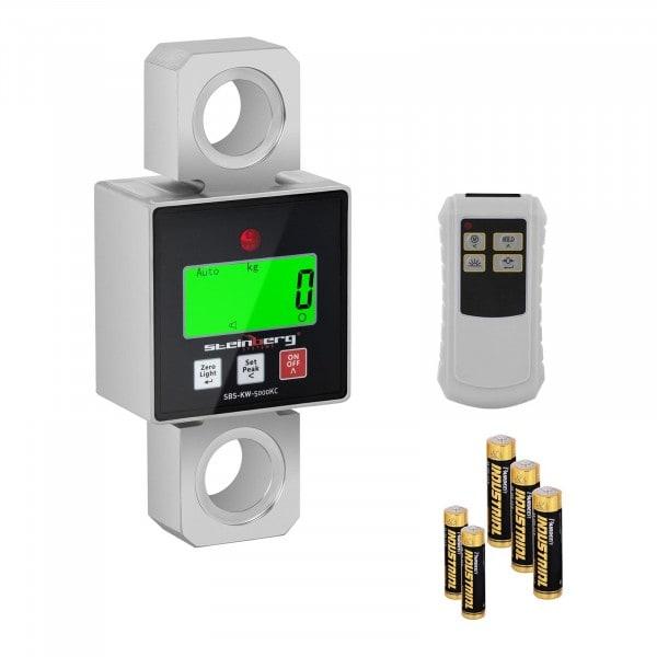 Produtos recondicionados Balança digital de guindaste - 5000 kg / 1 ou 2 kg - LCD
