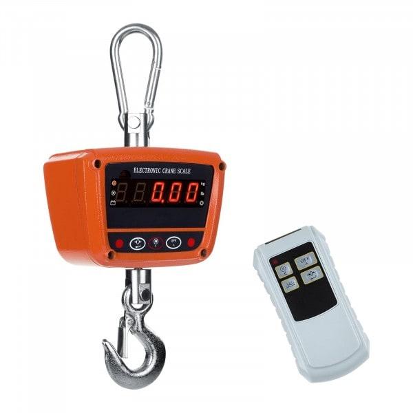 Balança digital de guindaste - 300 kg - impermiável