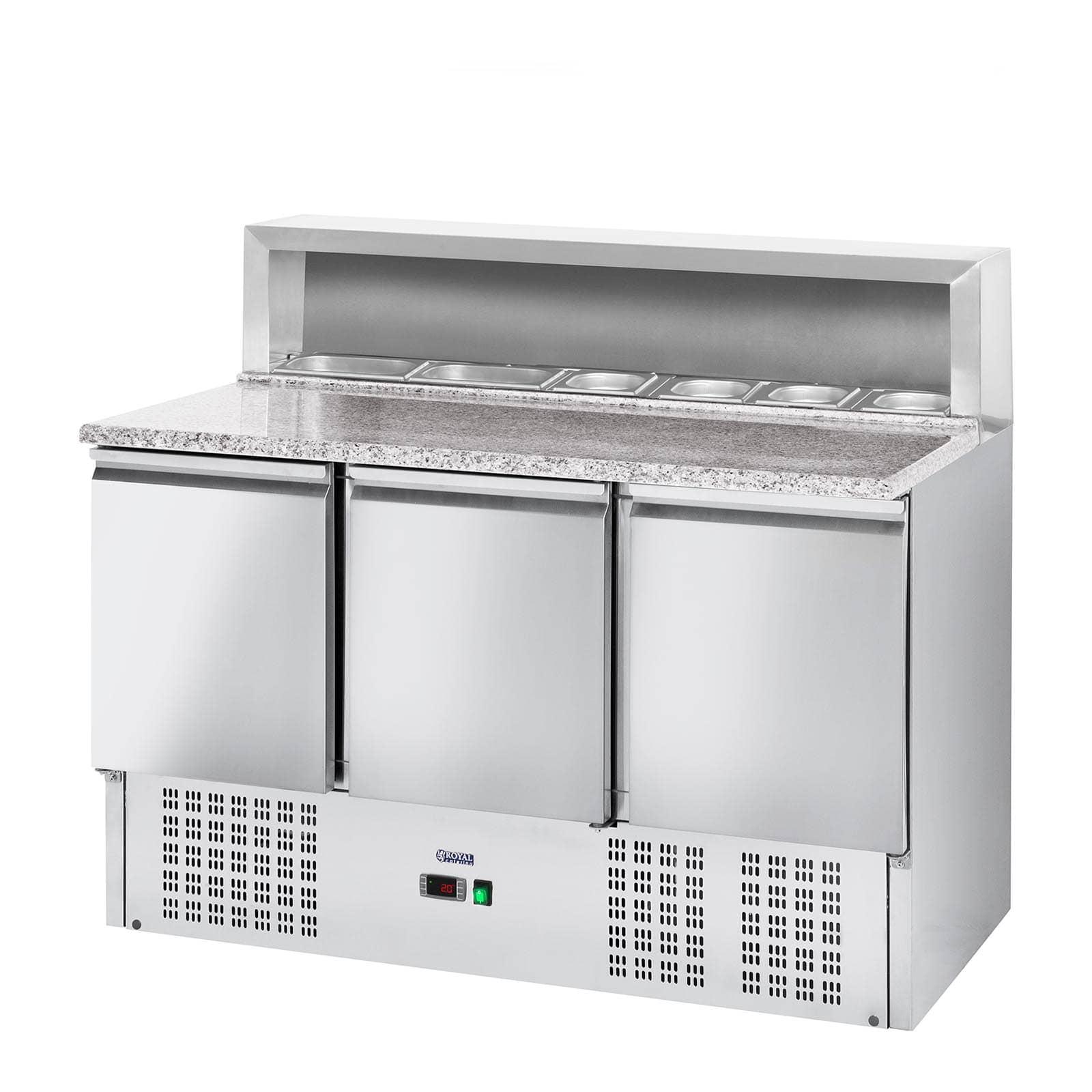 Mesas refrigeradas para pizzas