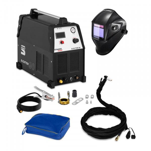 Conjuntos de soldar Máquina de Corte por Plasma - 90 A - 400 V + Máscara de Soldar - Carbonic - SÉRIE PROFESSIONAL