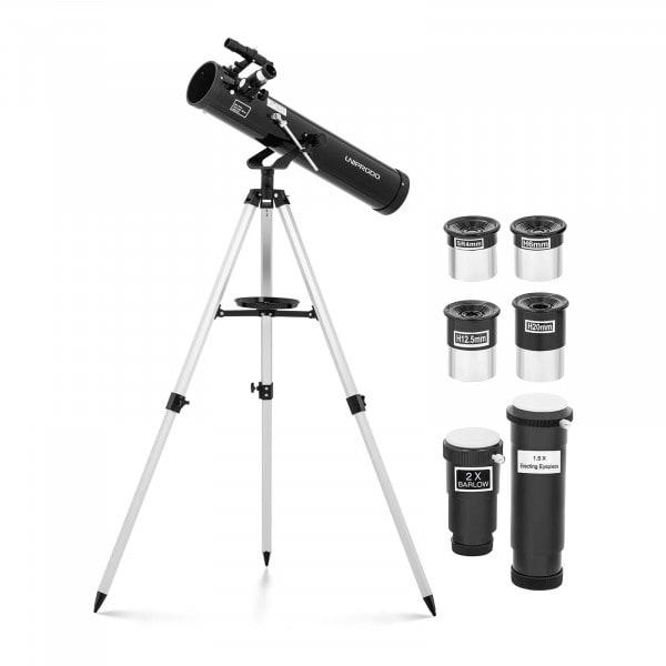 Artigos usados Telescópio Newtoniano - 700 mm - lente Ø76 mm