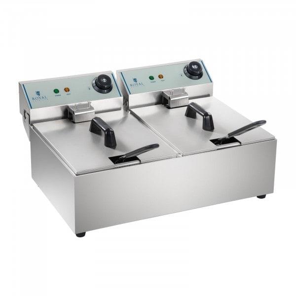 Artigos usados Fritadeira - 2 x 10 litros - ECO