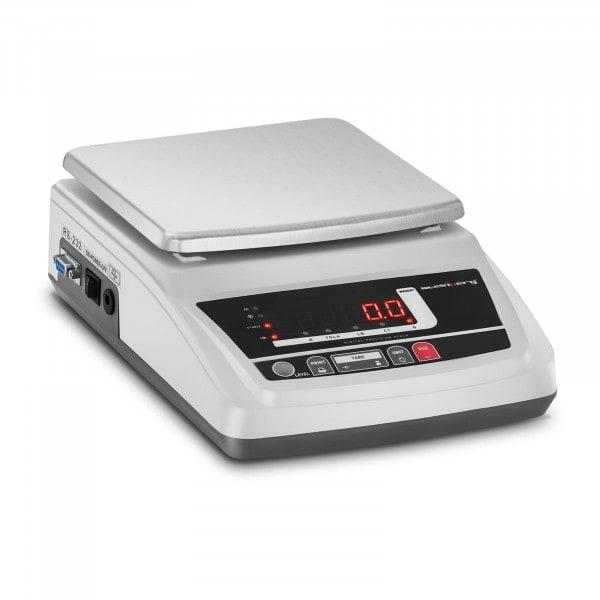 Produtos recondicionados Balança digital de precisão - LED - 6000 g / 0,1 g