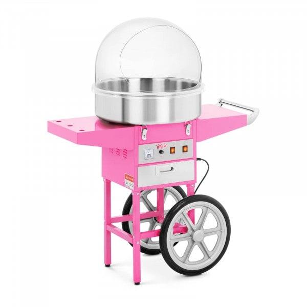 Máquina de algodão doce - 52 cm - carrinho incl. - cobertura