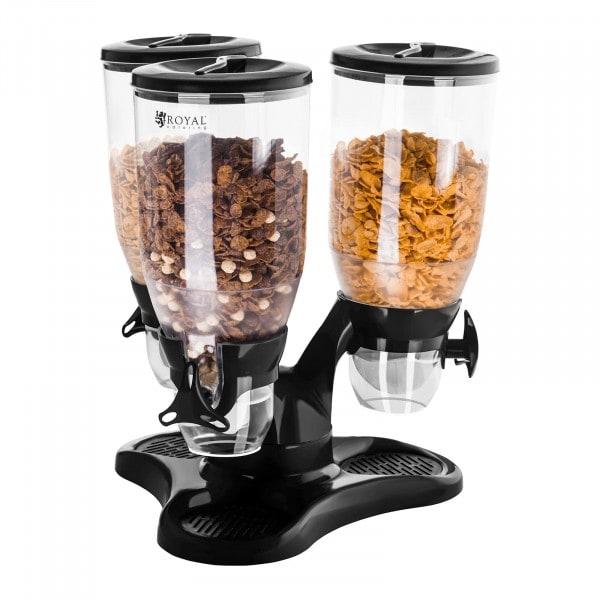Artigos usados Dispensador de cereais - 3 recipientes - 9 L