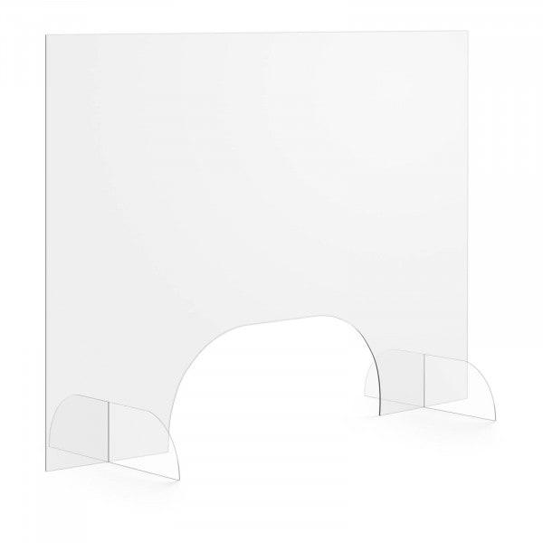 Artigos usados Protetor em acrílico - 100 x 70 cm - janela grande 50 x 20 cm