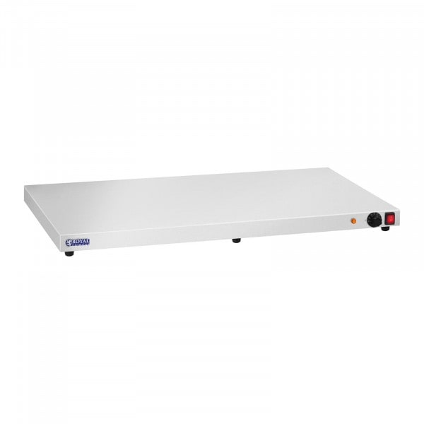 B-WARE Placa de aquecimento - 600 W - aço inoxidável - 100 cm