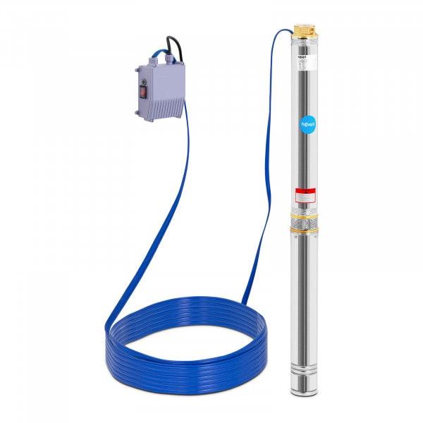 Artigos usados Bomba submersível - 2200W - até 72 m - aço inoxidável