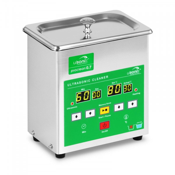 Lavadora ultrassónica - 0,7 litros - 60 W - 4 x LED