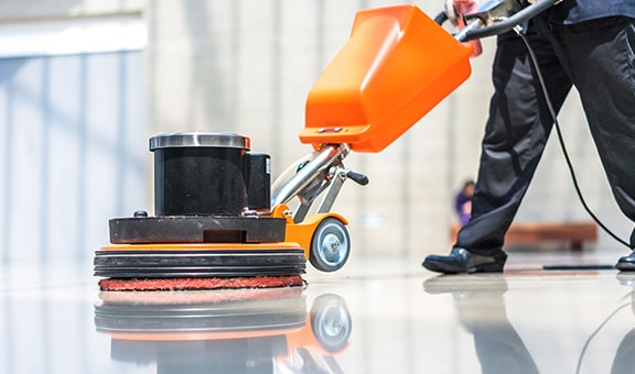 Máquinas para limpeza de chão